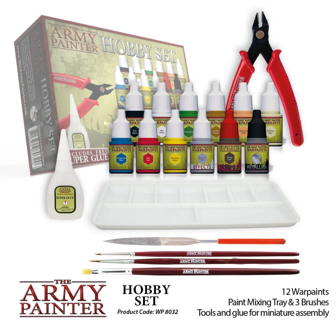 Army Painter Hobby Set.