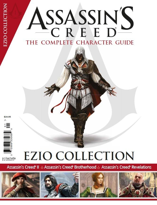 Assassin's Creed: The Ezio Collection is a new bookazine that focuses on Ezio.