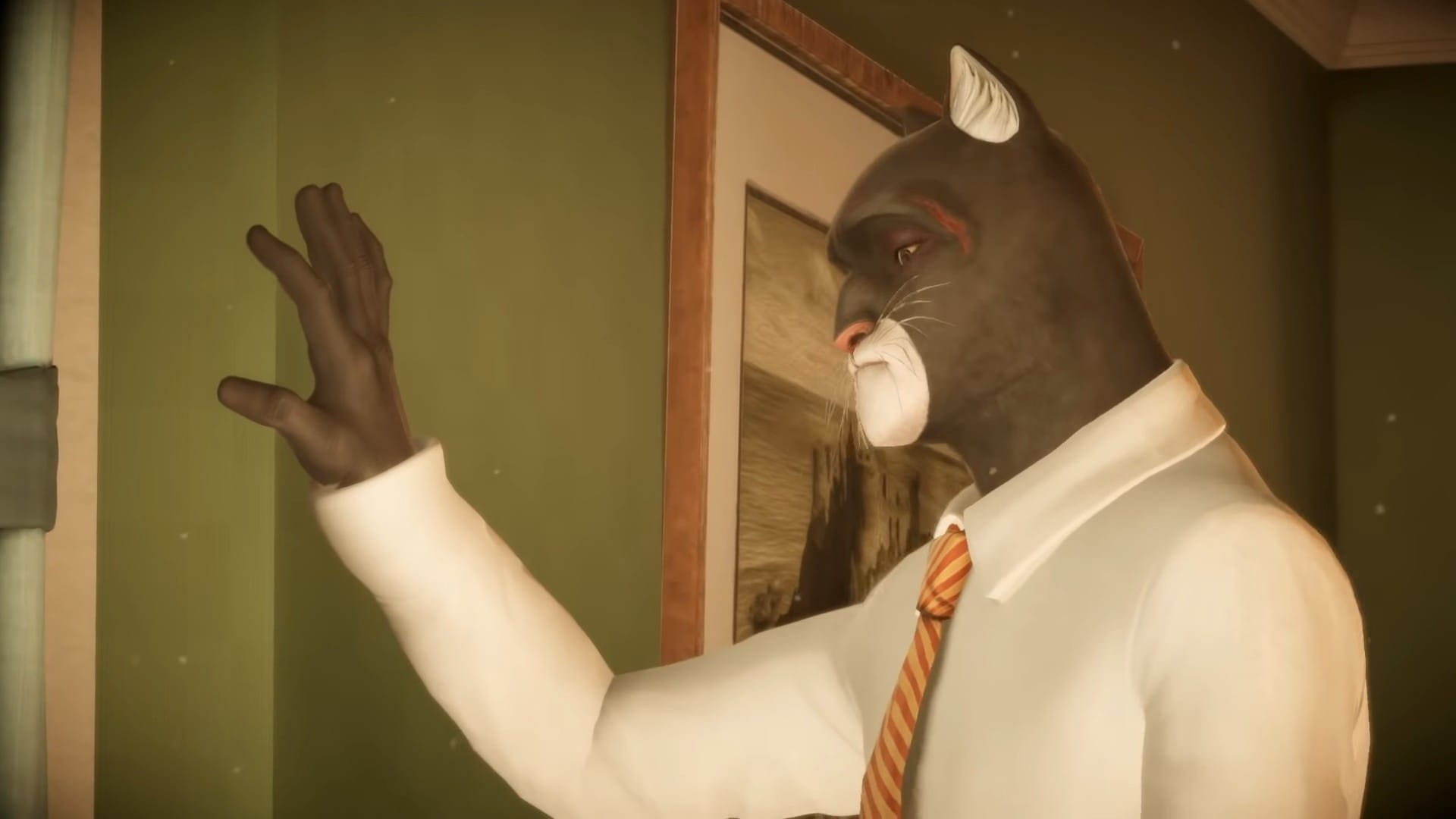 Blacksad Looking Sad