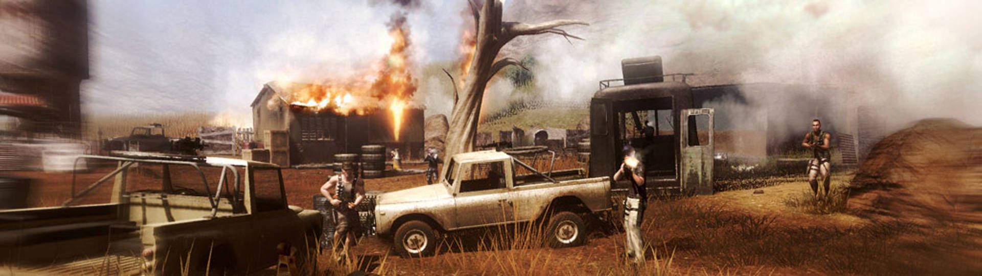 Far Cry 2 Ubisoft Games online features slice