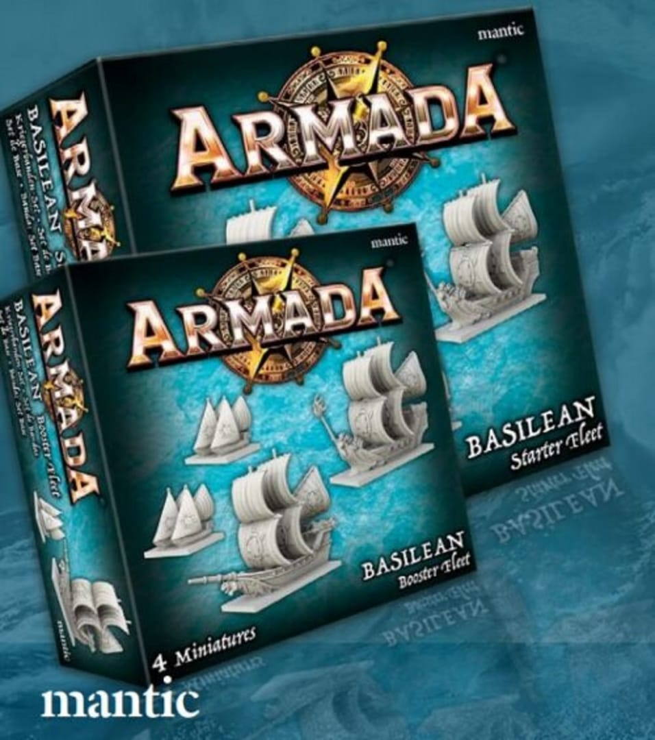 Kings of War Armada Basilean Packs.