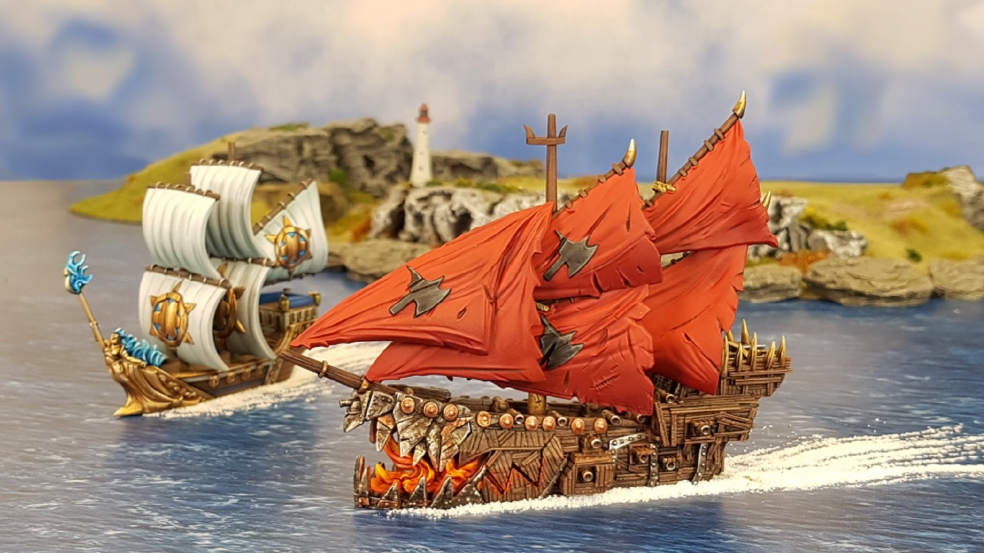 Kings of War Armada.