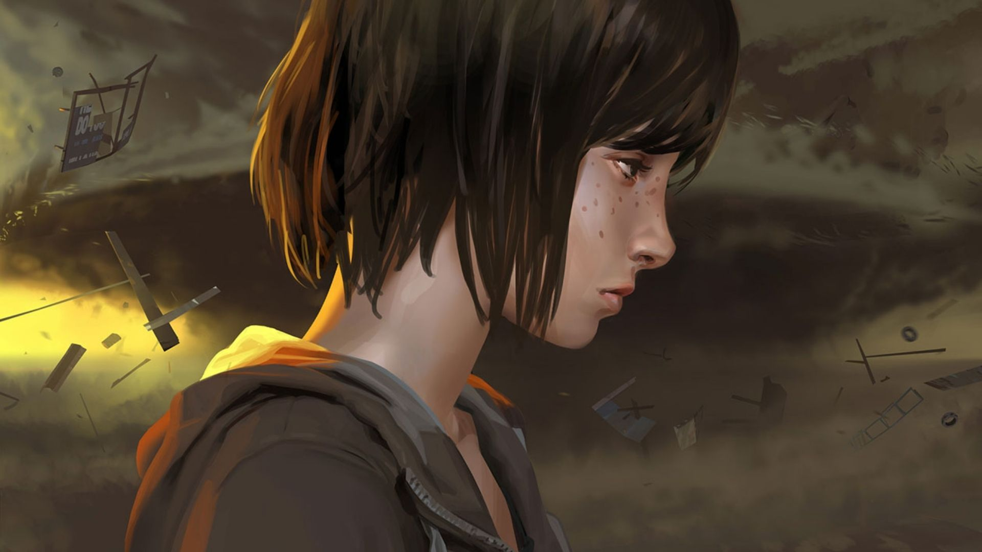 Max Caulfield, the protagonist of the first Life is Strange