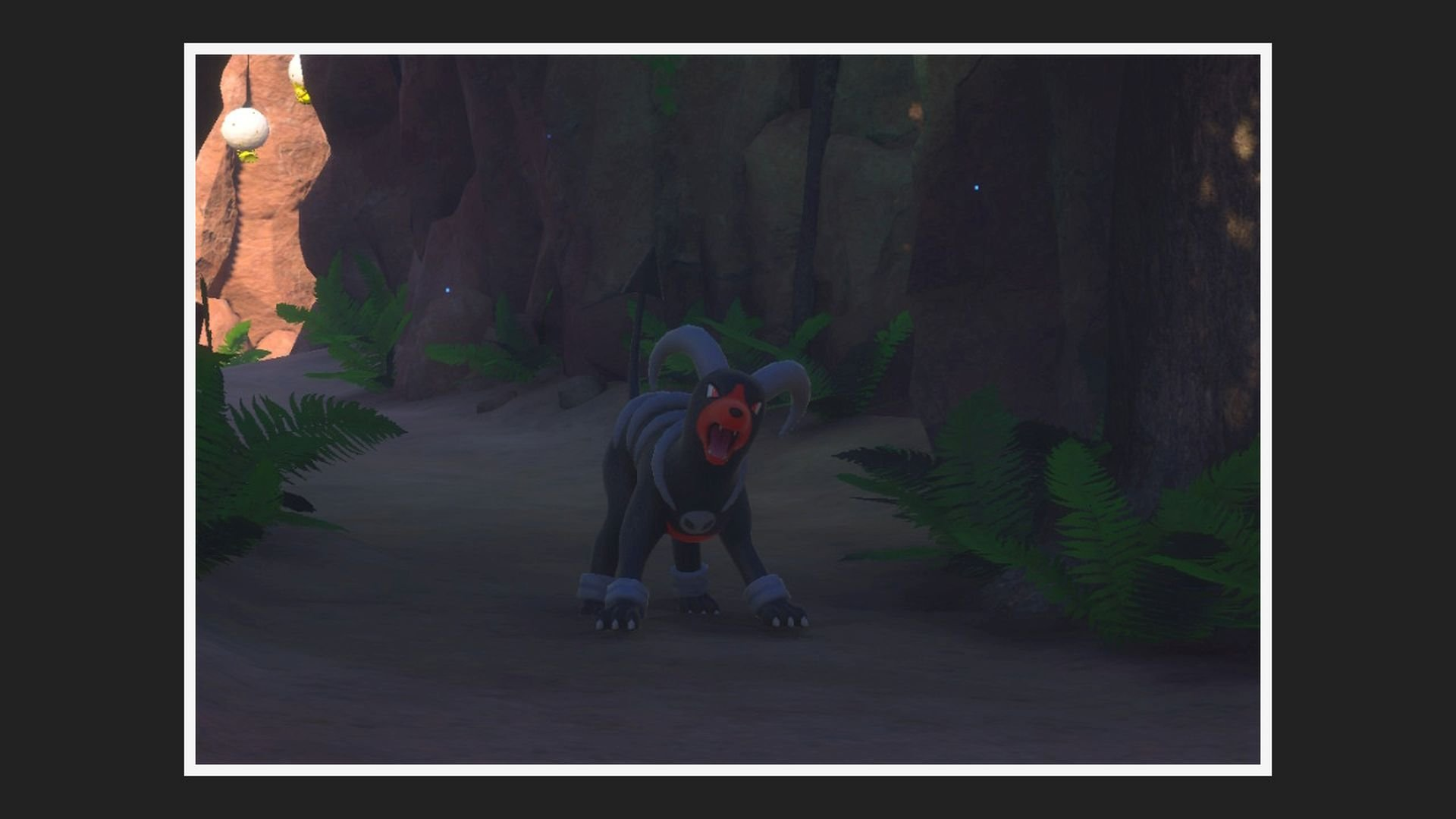 New Pokemon Snap Ruins Photo Houndoom