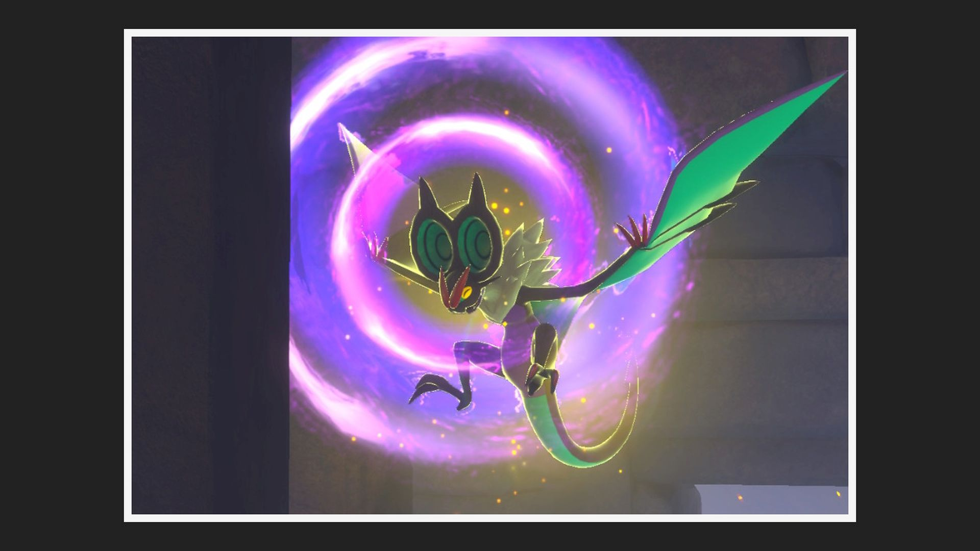New Pokemon Snap Ruins Photo Noivern