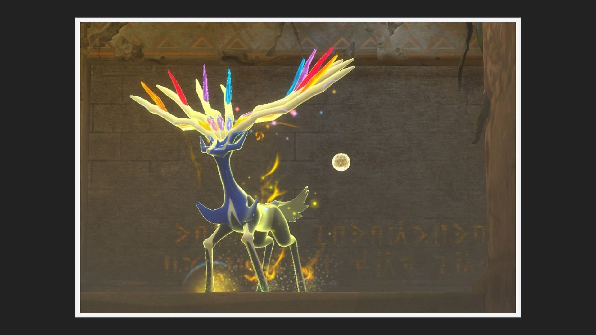 New Pokemon Snap Ruins Photo Xerneas