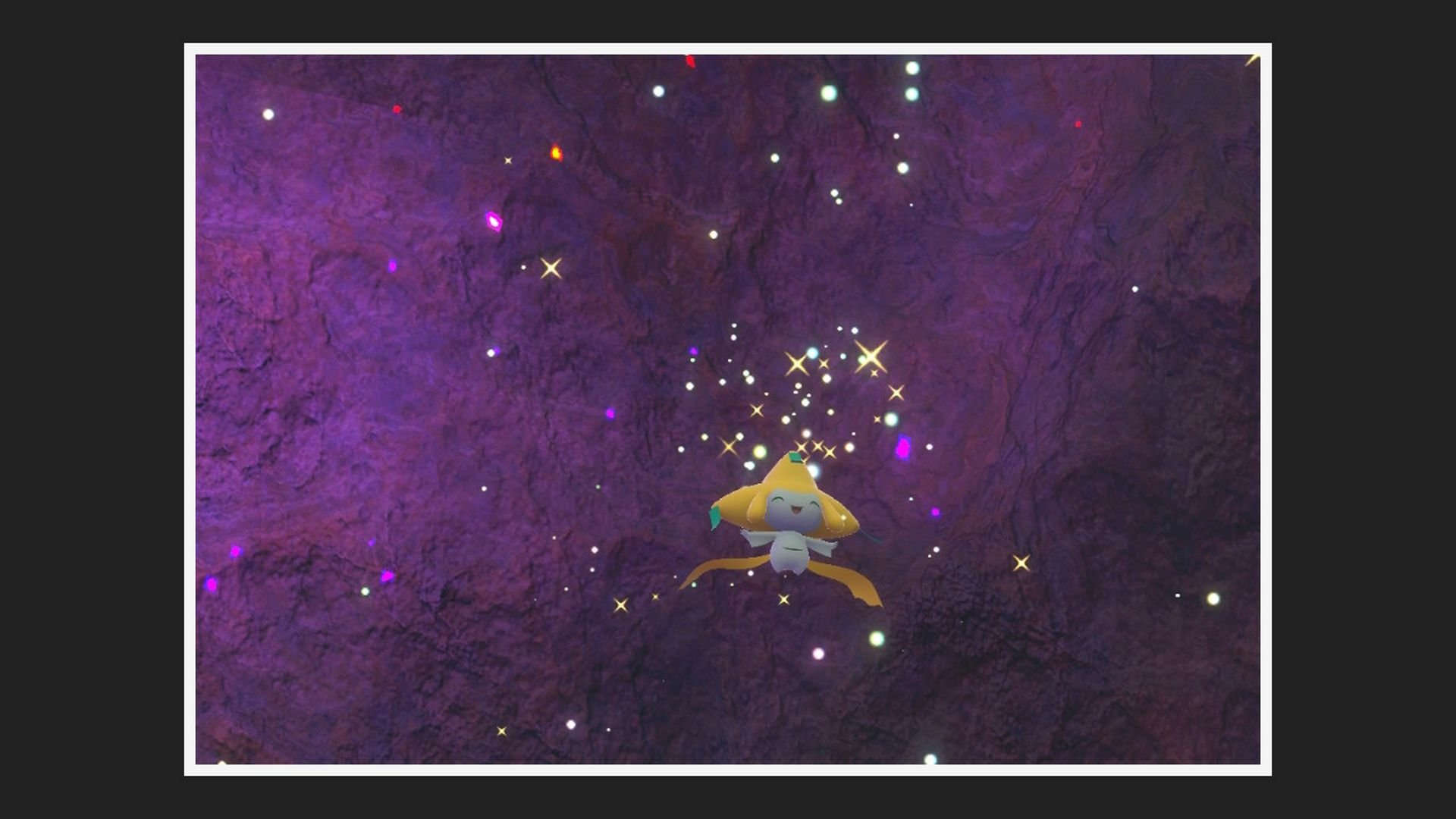 New Pokemon Snap Ruins Photo Jirachi