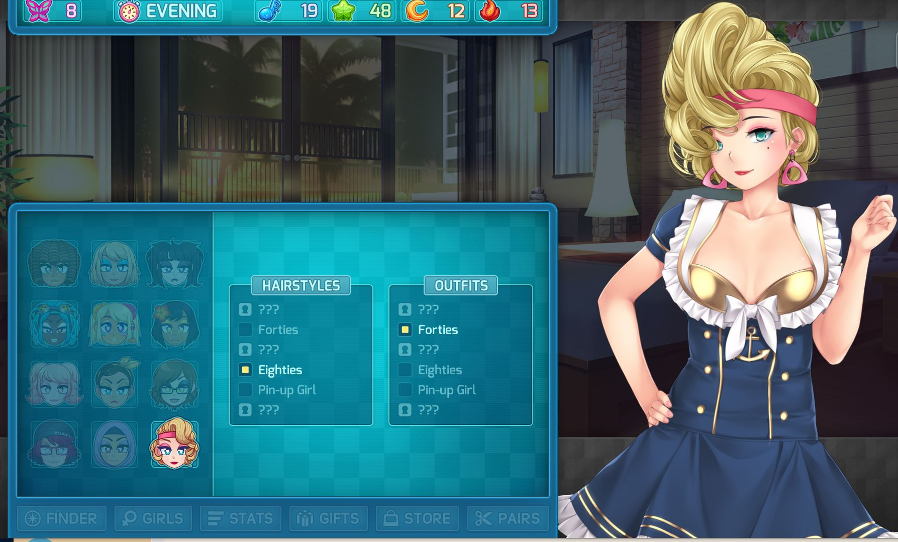 Huniepop 2 Outfits Polly