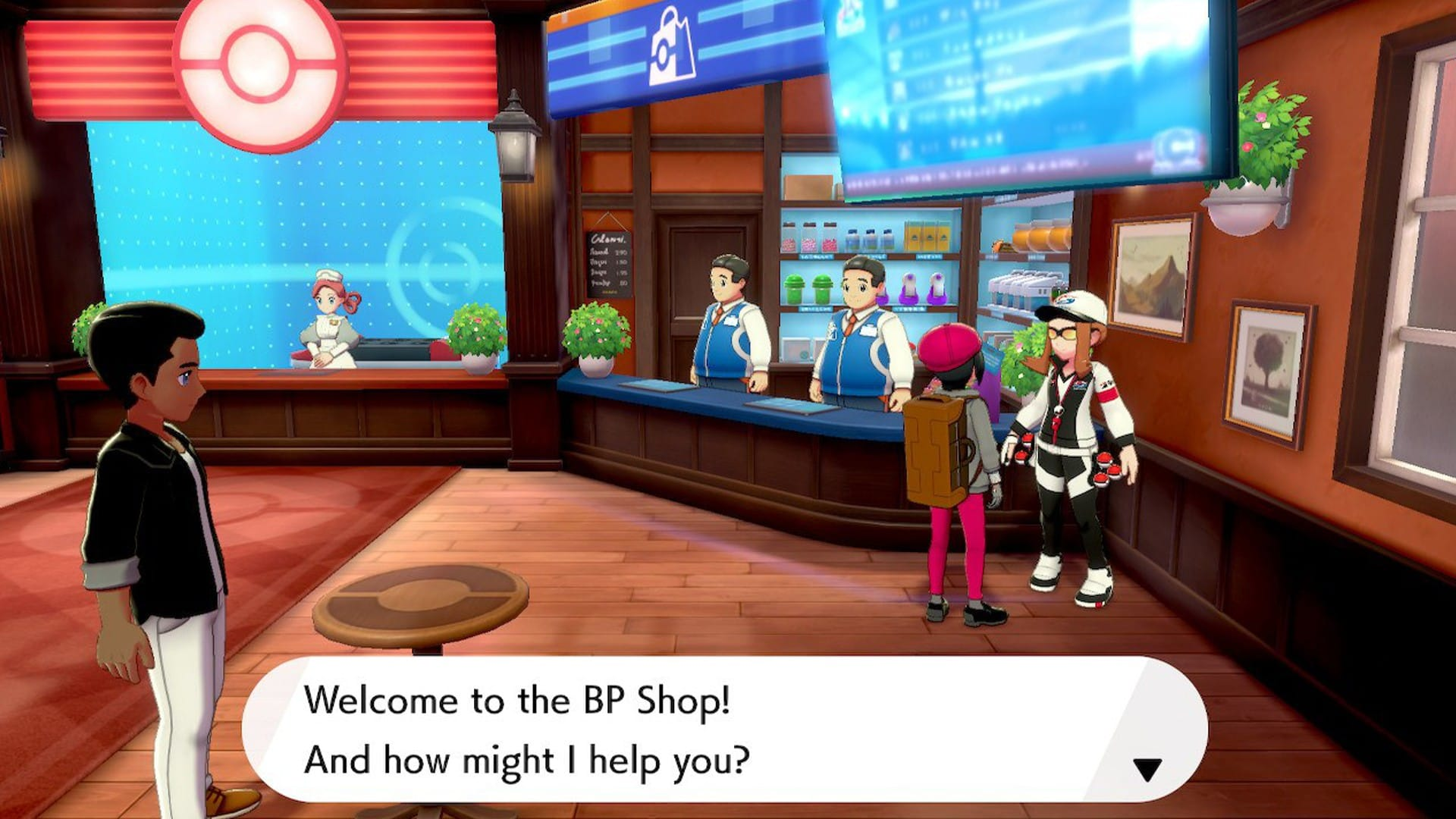 Pokemon Sword Shield BP Shop
