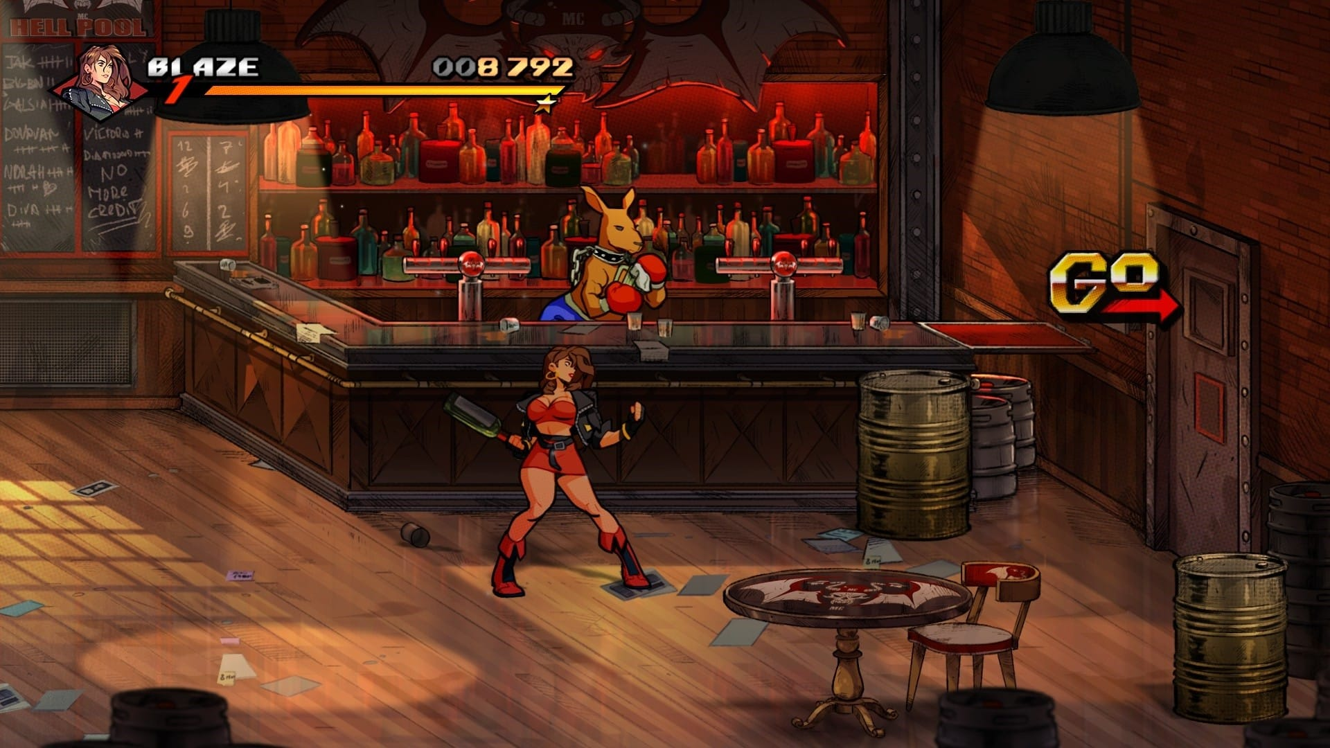 Streets of Rage 4 Roo