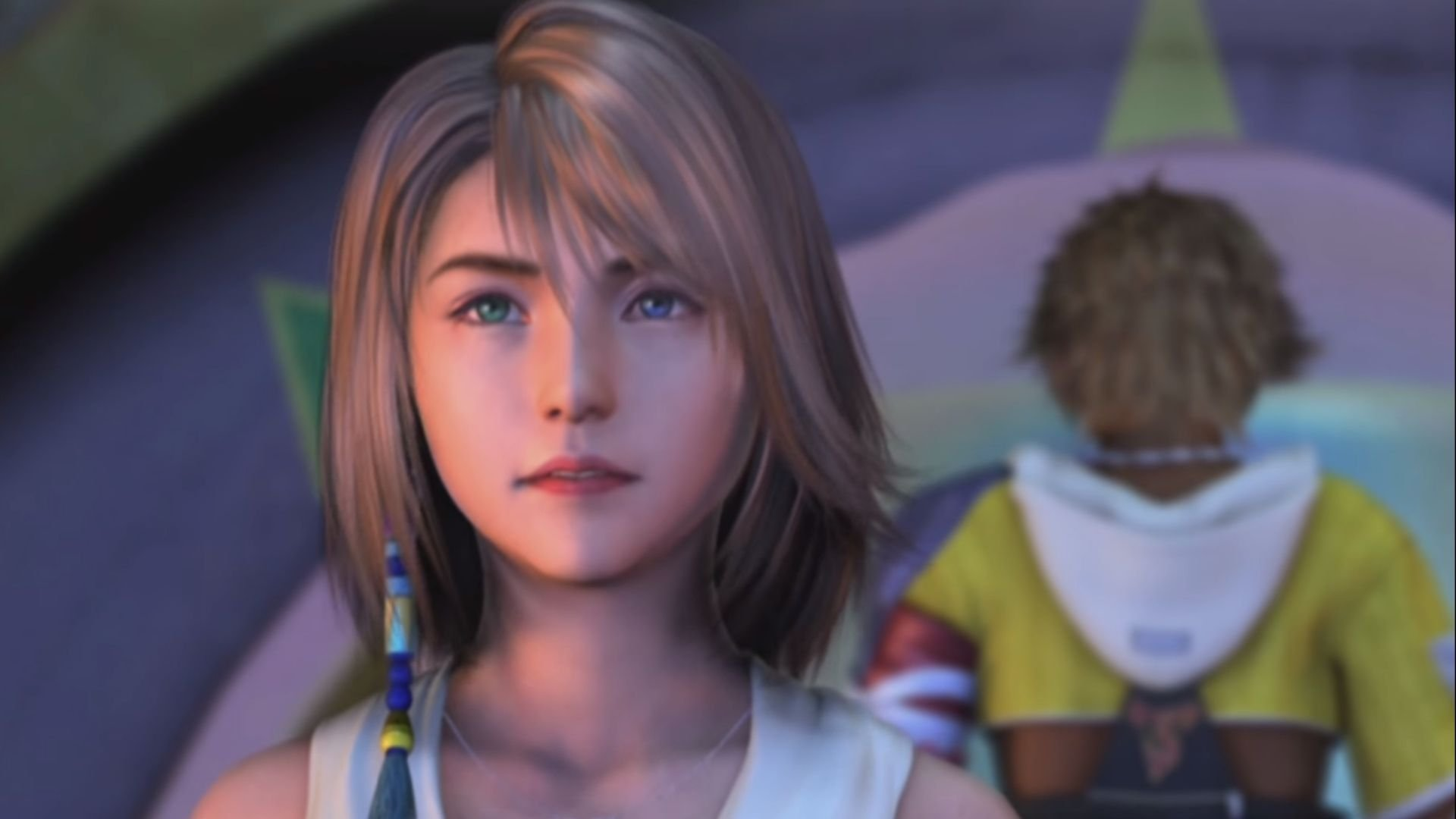 Yuna, a main character in Final Fantasy X