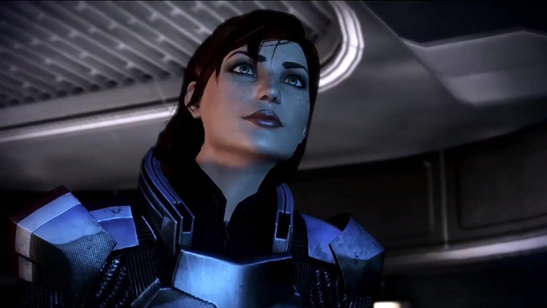 Commander Shepard, in a trailer for Mass Effect 3