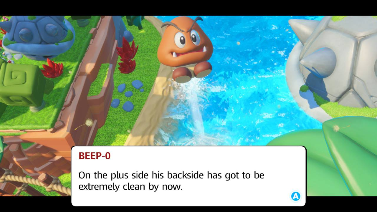 Mario Rabbids Kingdom Battle Review Goomba