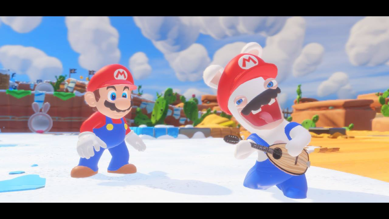 Mario Rabbids Kingdom Battle Review Rabbid Mario