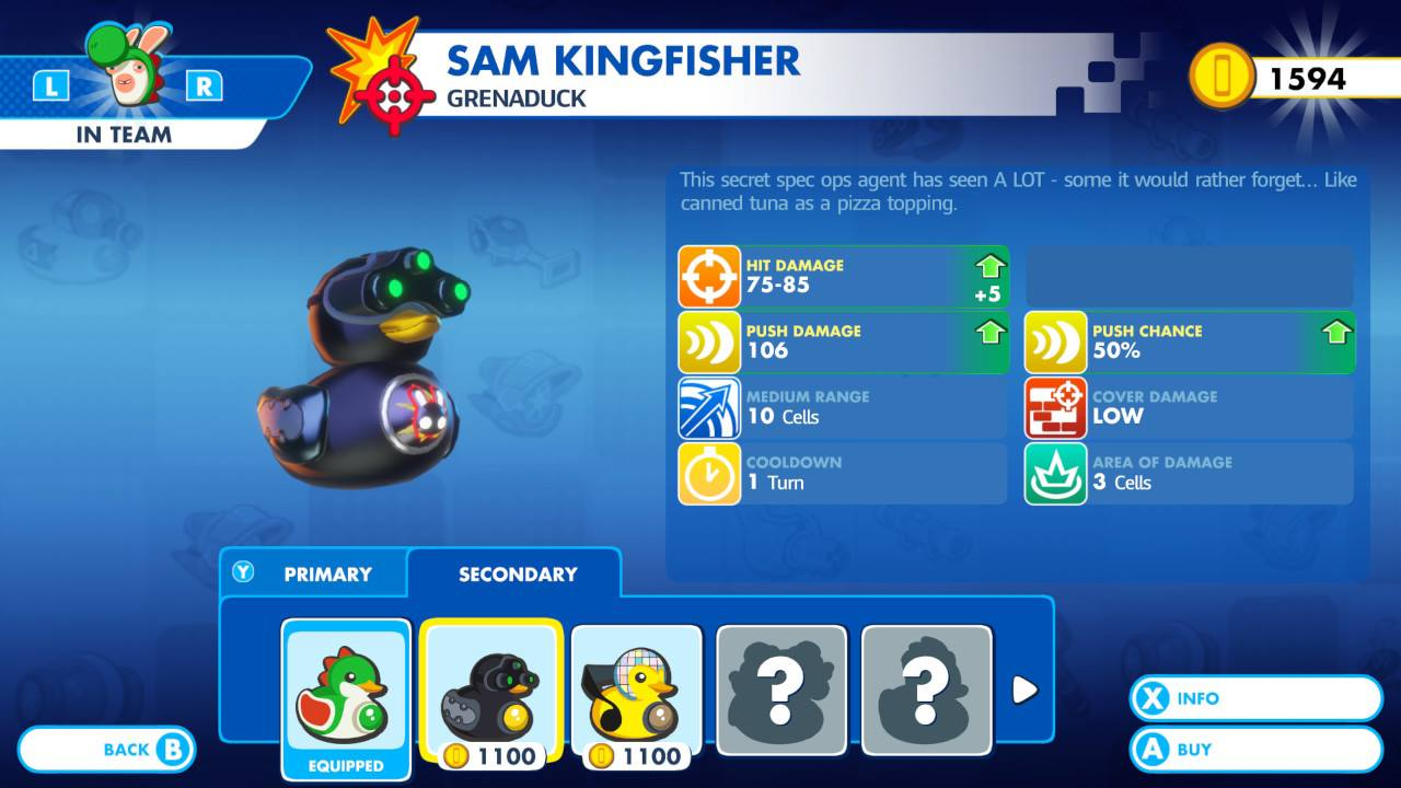 Mario Rabbids Kingdom Battle Review Sam Fisher