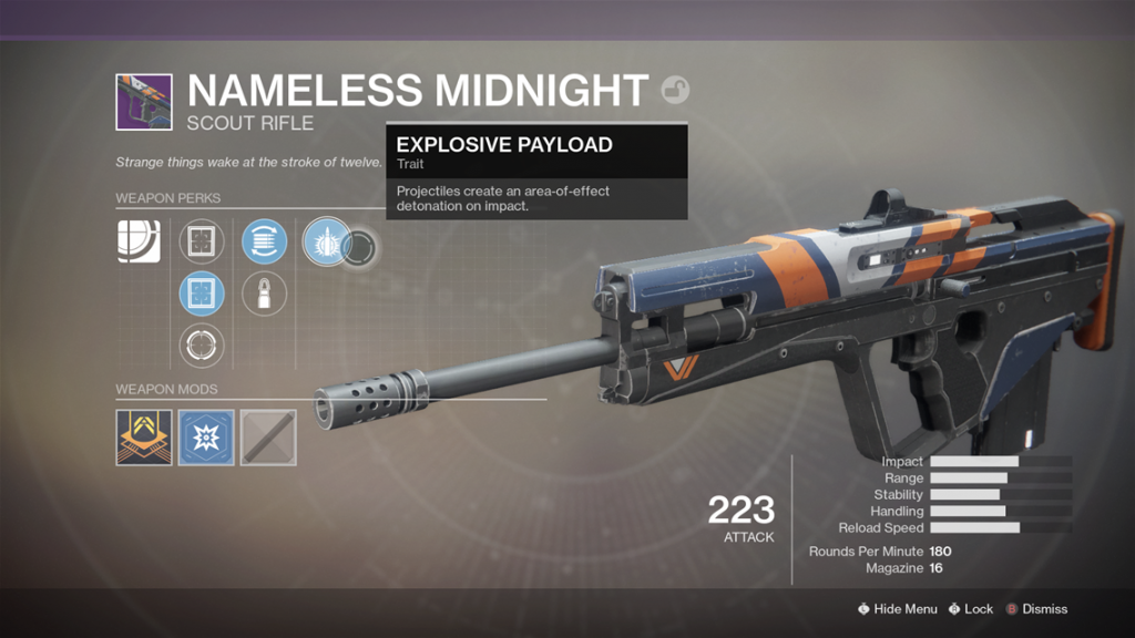 destiny 2 nameless midnigh