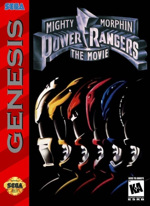 power rangers the movie