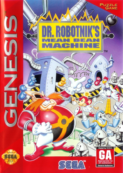 robotniks mean bean machine