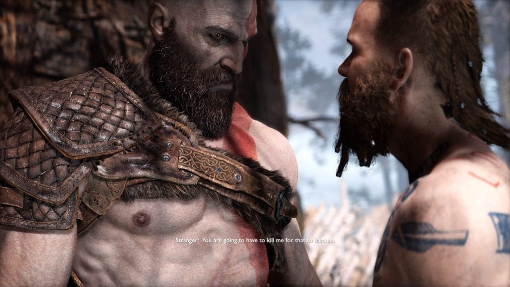 god of war review stranger