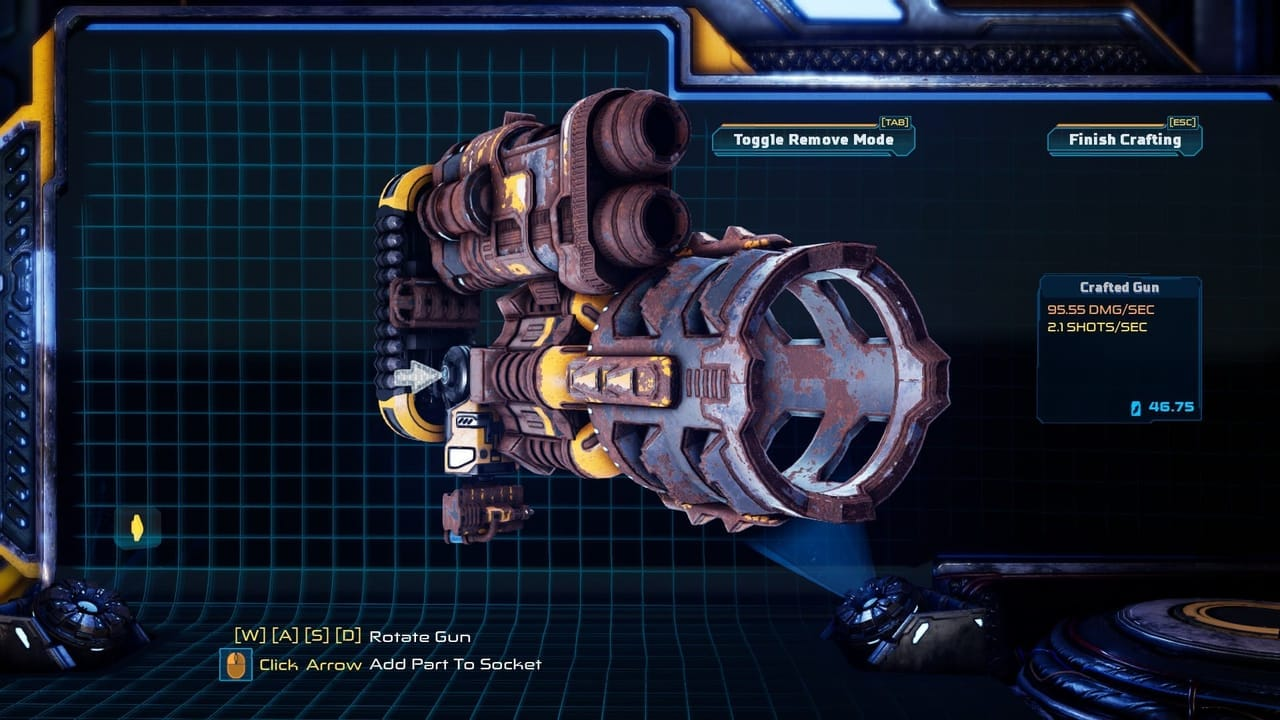 mothergunship barrel barrel gameplay