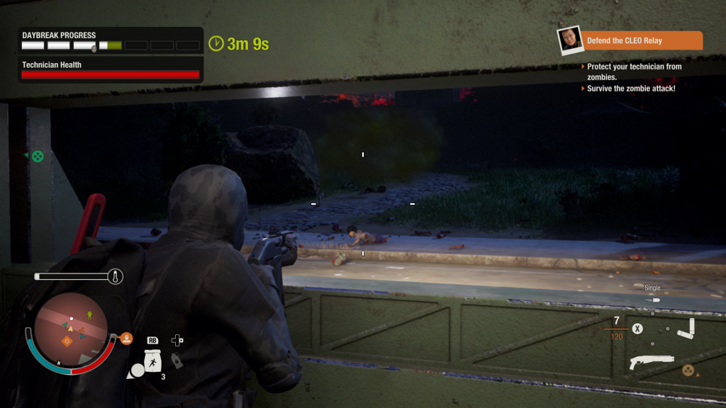 state of decay 2 wall look