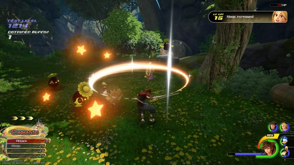 kingdom hearts iii review combat