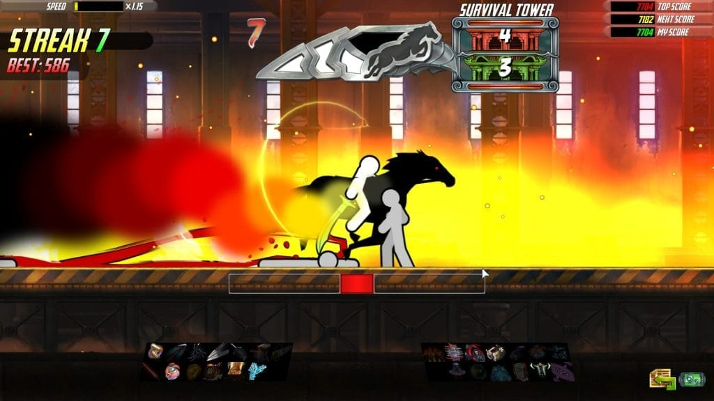 one finger death punch 2 review horse