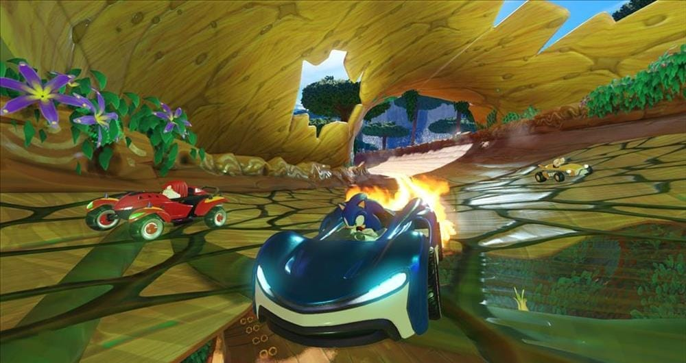 sonic team racing screenshot