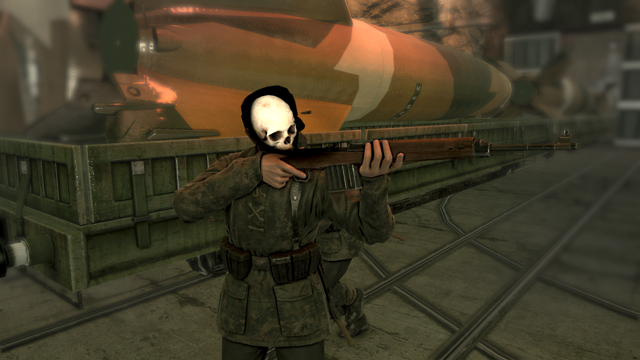 sniper elite v2 remastered gameplay skull