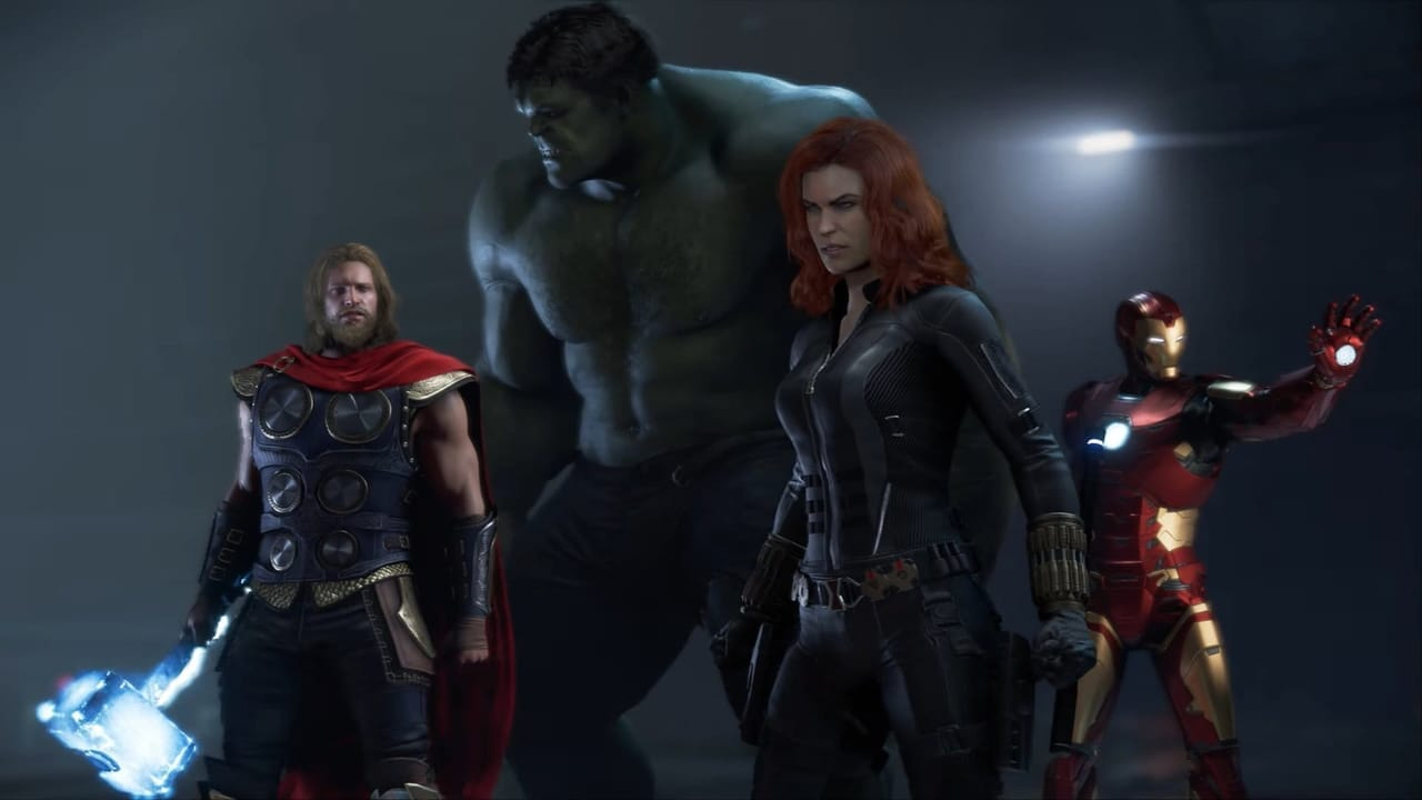 marvels avengers iron man hulk captain america black widow thor