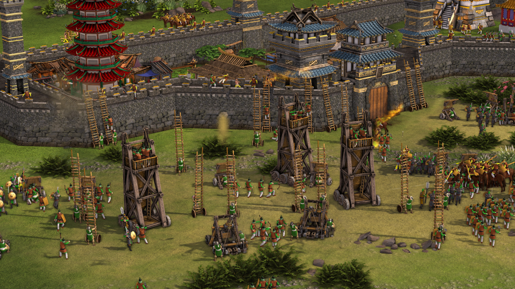 stronghold warlords attack