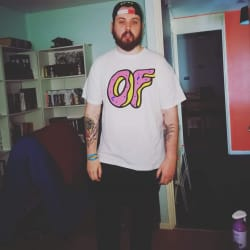 Will wearing an Odd Future shirt.