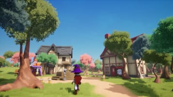A screenshot of the main village.