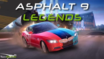 Asphalt 9 Legends Switch