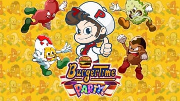 Burgertime Party! game page featured image
