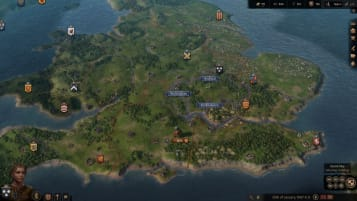 An image of early gameplay from Crusader Kings III