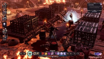 An in-game screenshot of Divinity: Fallen Heroes