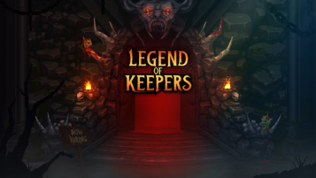 Logo for Legend of Keepers
