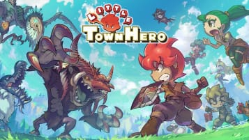 Little Town Hero Key Art