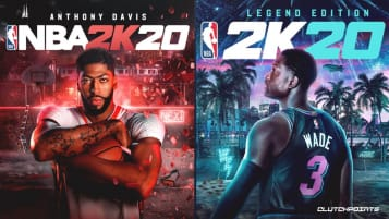 NBA 2K20 Cover Art