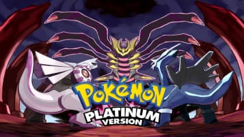Pokemon Platinum Version Art