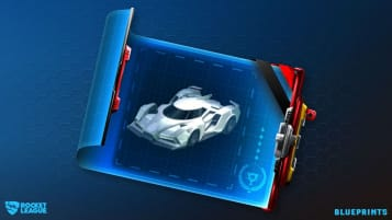 A shot of Rocket League's new Blueprints