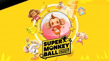 The main logo for Super Monkey Ball: Banana Blitz HD
