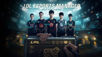 LoL esports manager header