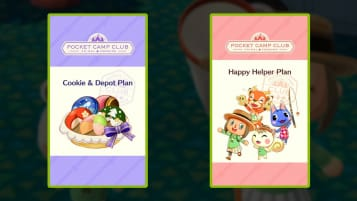 Animal Crossing: Pocket Camp Club Plans