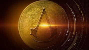The logo for audio drama Assassin's Creed Gold