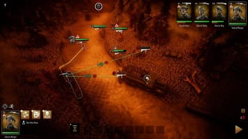 A screenshot of the combat in Broken Lines