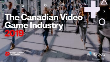 Canadian Video Game Industry cover
