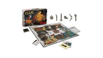 CLUE Dungeons & Dragons Box and Board