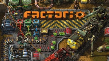 Factorio 1.0 release date trains logo
